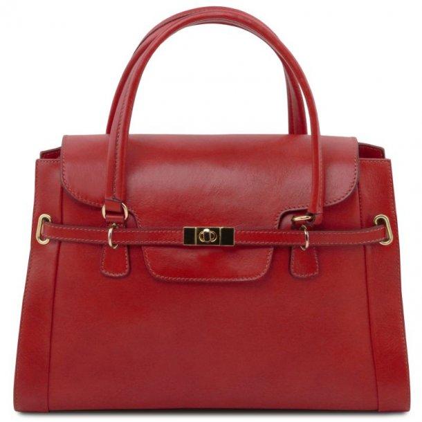 Med Tuscany Leather I Lås Håndtaske 141230 Dame Skuldertaske zRCnqxwTW6