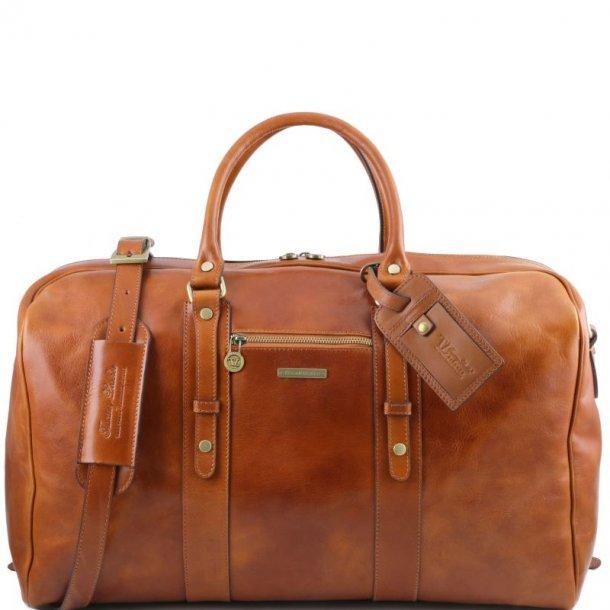 Læder Rejsetaske Weekendtaske