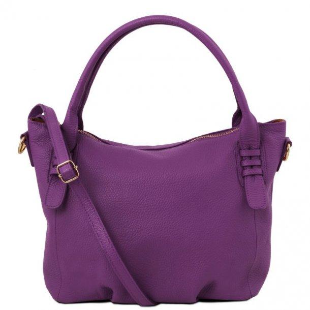 Blød dame håndtaske skuldertaske