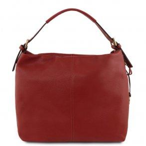 273d4a09377 Big shopper tasker l Håndsyede tasker i ægte italiensk læder l Milla ...