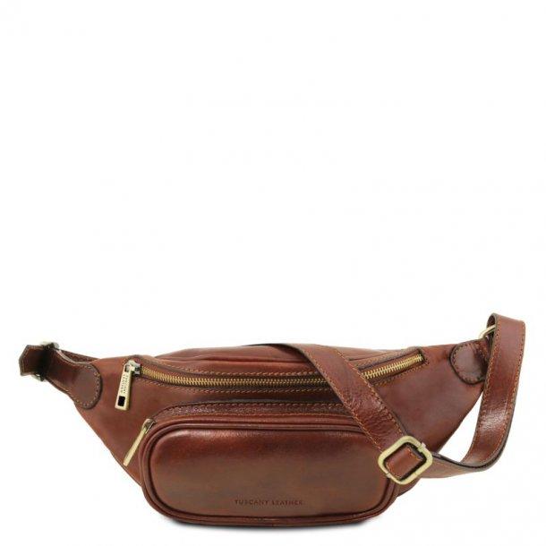 Bæltetaske i læder - 141797