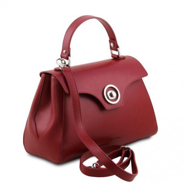 Blød duffle læder taske  - 141824
