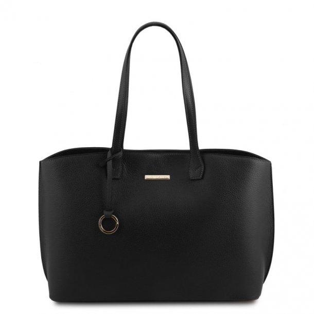 Smart blød læder taske - 141828