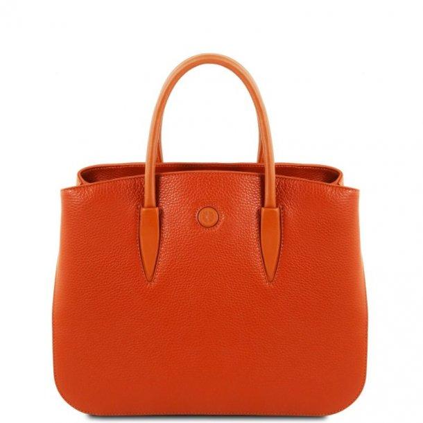 CAMELIA læder håndtaske