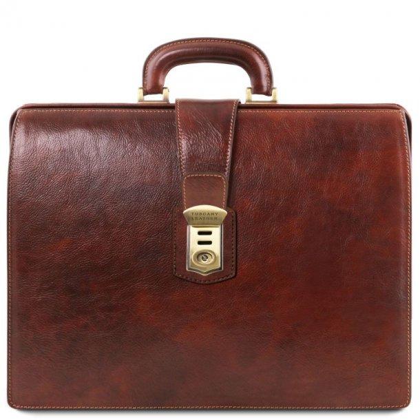 CANOVA - Doktor lædertaske - 15,6