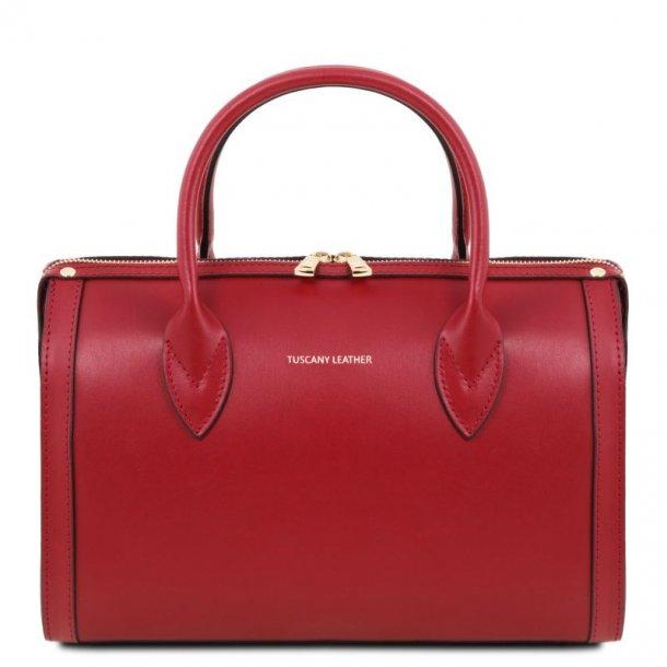 ELENA håndtaske og skuldertaske i læder