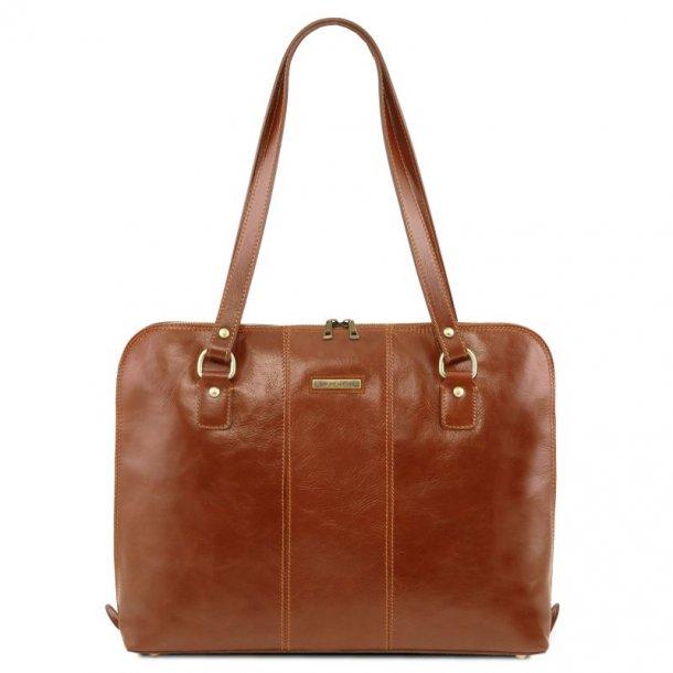 RAVENNA - Exclusiv dame business taske med skulderrem  - 141795