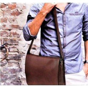 L Læder I Udvalg Mænd Stort Elegante Ægte Tasker Af Herretasker 7qqAEH