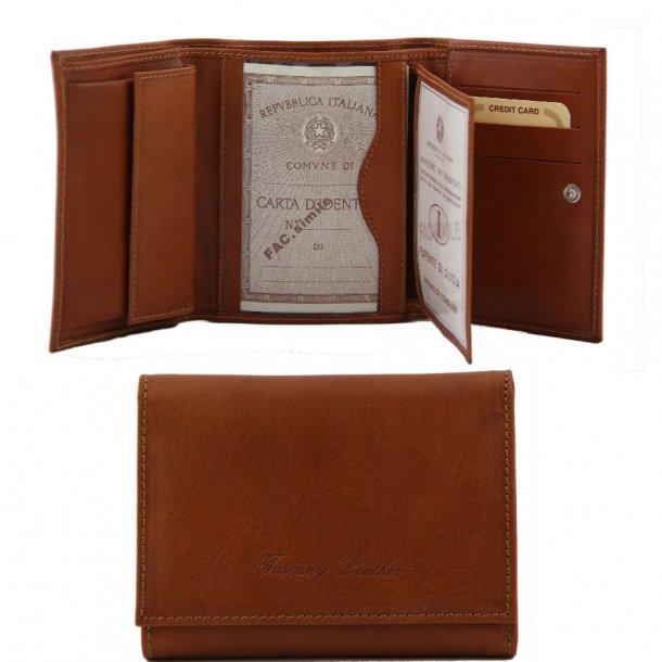 140790 - Damepung 3 fløjet -Tuscany Leather