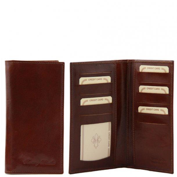 140784 - UNISEX læder Pung m/3 rum - Tuscany Leather