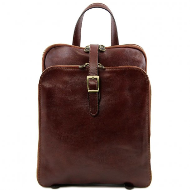 TAIPEI - Computertaske / iPad taske med læder spænde