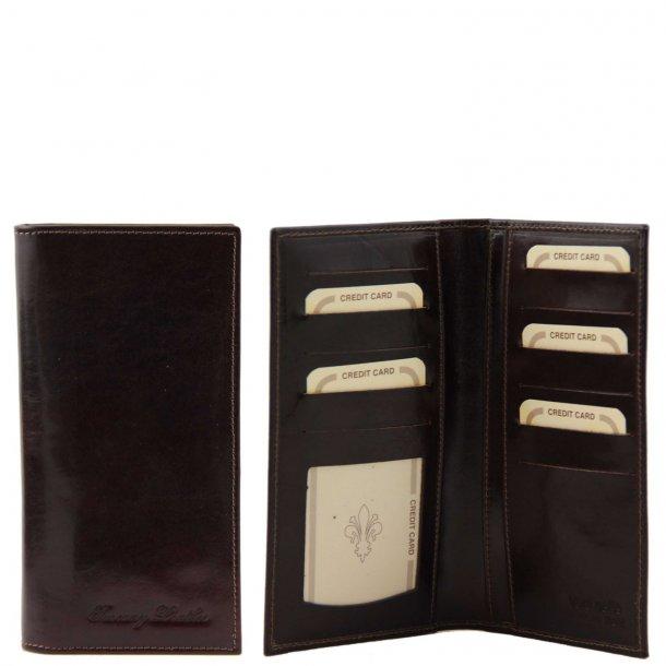 140784 - Herrepung Kortholder Tegnebog - Tuscany Leather